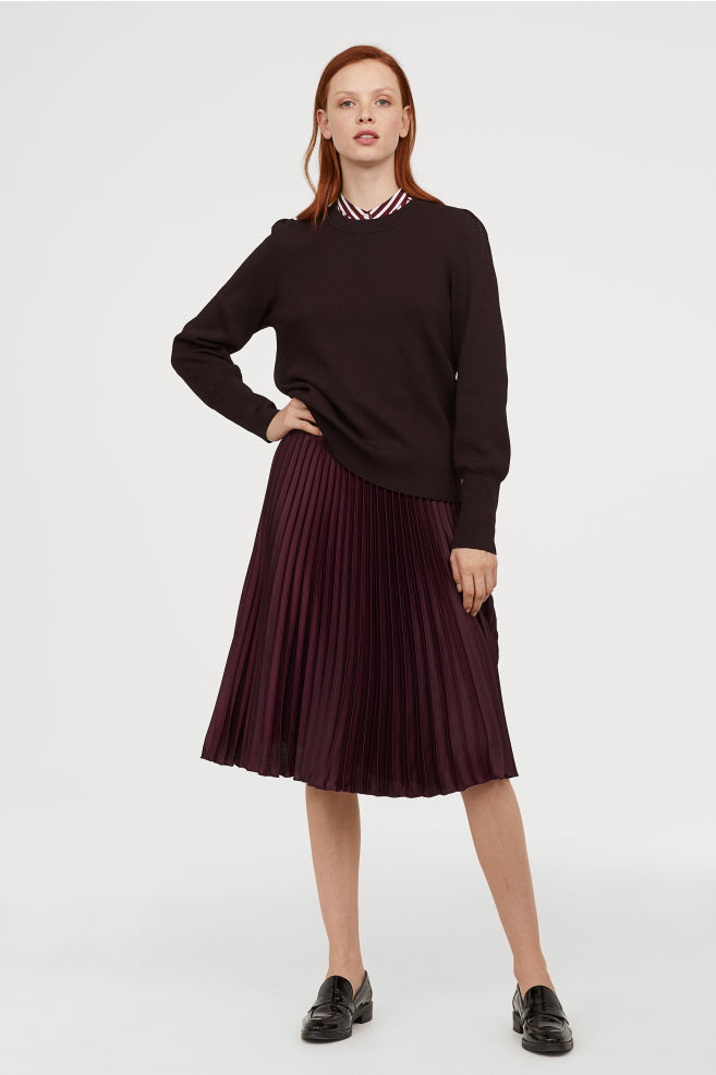 H&M Pleated skirt £29.99