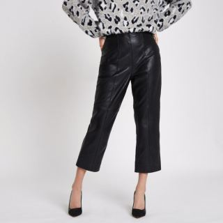 River Island Leather Trousers £150