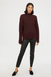 HM Leather Trousers £199