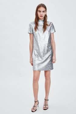 Zara Sequin Dress £25.99