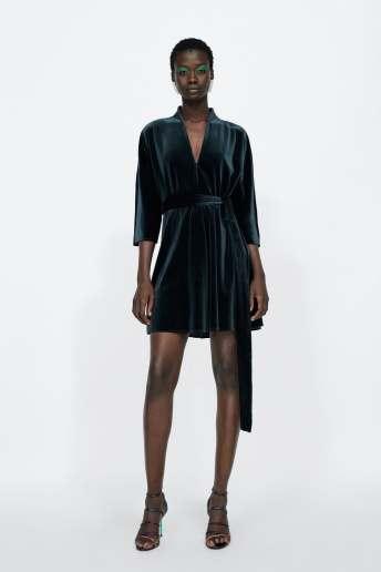Zara Velvet Dress £29.99