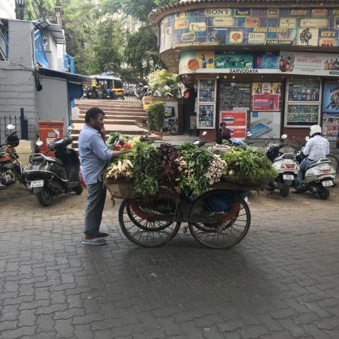 Veg man Mumbai India