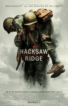 Hacksaw Ridge - Best Oscar Movie Poster - Chilliprinting