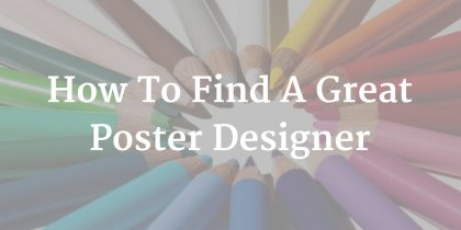 How to Find a Great Poster Designer