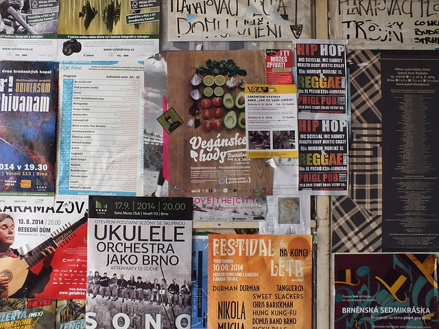Bulletin Board - Most Effective Locations To Place Your Posters