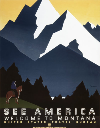 WPA Posters - Most Successful Posters in History - Chilliprinting