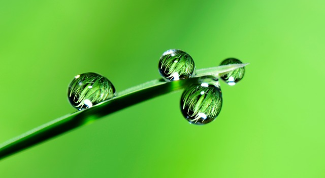 water drop 300dpi - image print resolution