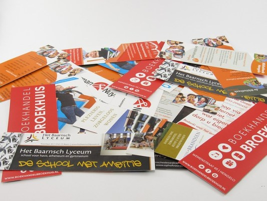 bookmarks - print marketing materials - chilliprinting