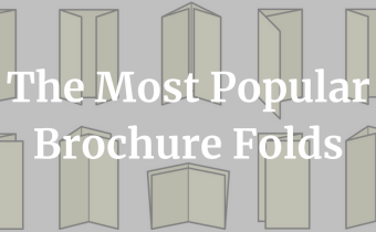 6 Most Popular Types of Brochure Folds