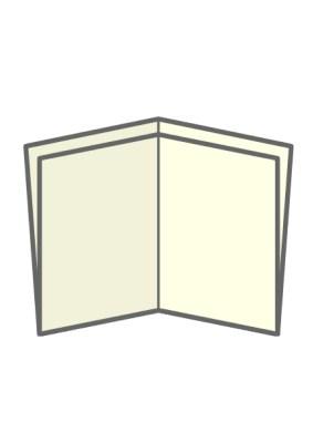 cross fold - types of brochure folds - chilliprinting