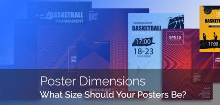 Our Guide To Understanding The Most Common Poster Sizes
