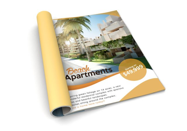 real estate brochure - 7 Must-Have Real Estate Marketing Materials - Chilliprinting