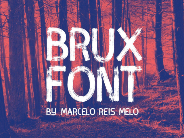 Brux Font for Valentine' Day