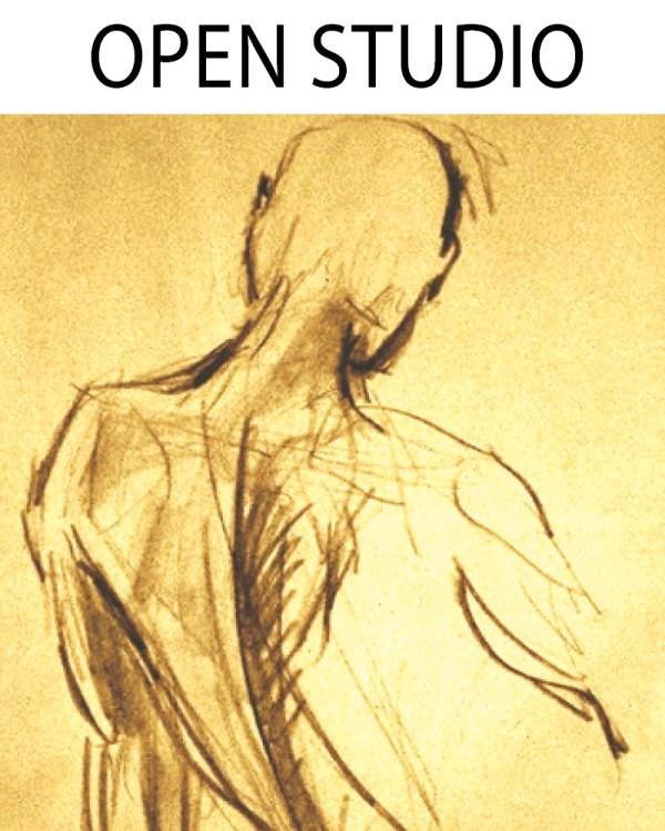 Live Model Drawing Open Studio - Undraped