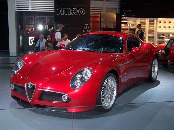 alfa romeo 8c competizione05 in Top 5 Most Beautiful Cars In 2009