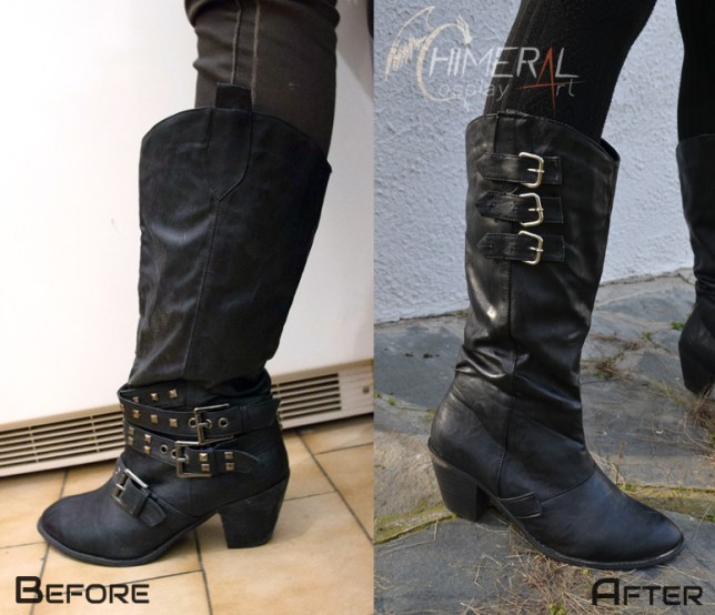 Sice cosplay boots - FF Type0