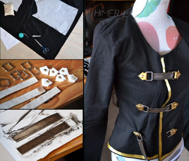Sice cosplay jaket - FF Type0