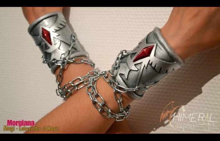 Morgiana bracelets - du manga Magi