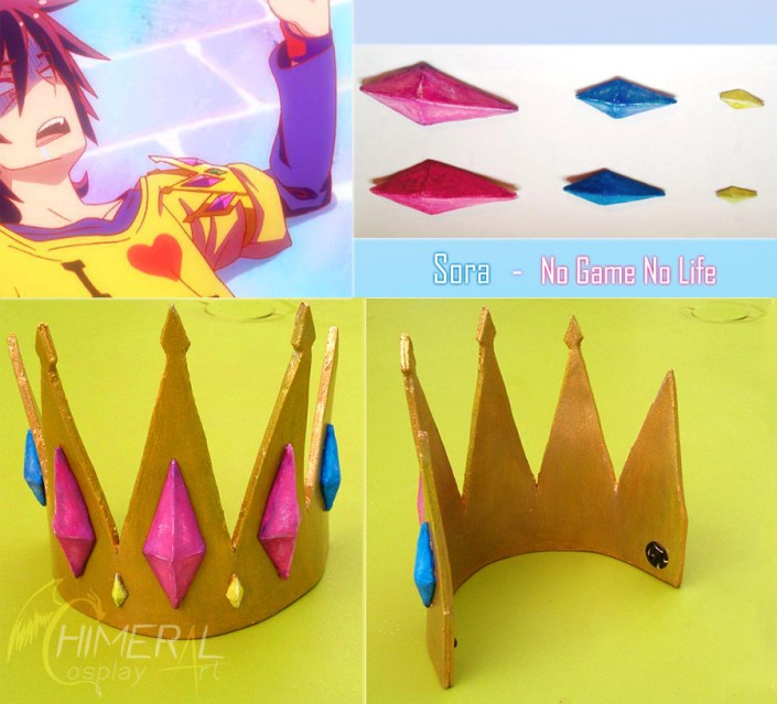 Sora crown (couronne) - No Game No Life / Comission Cosplay by Chimeral CosplayArt