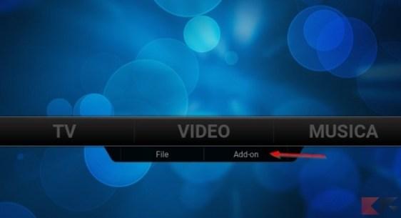 Addon video kodi