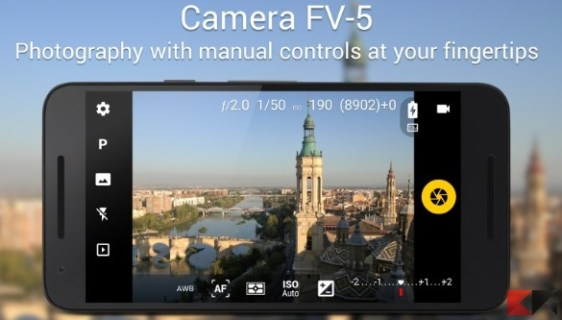 Camera FV-5 - App Android su Google Play