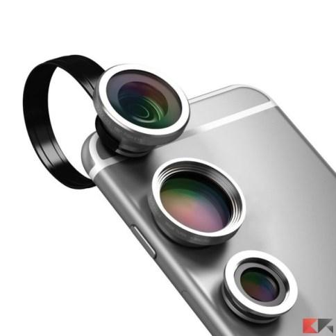 Obiettivo smartphone dodocool