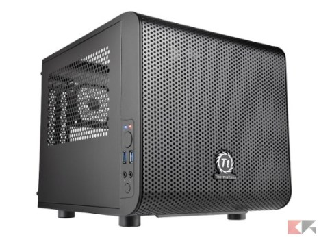 Thermaltake Core V1 Case PC Mini, Nero_ Amazon.it_ Informatica