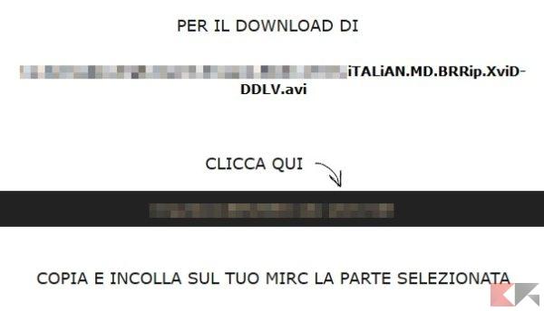 link da copiare