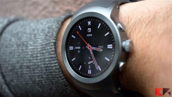 LG Watch Sport - smartwatch