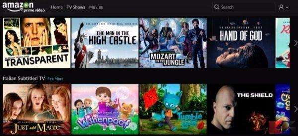 Amazon Prime Video - vedere serie tv in streaming