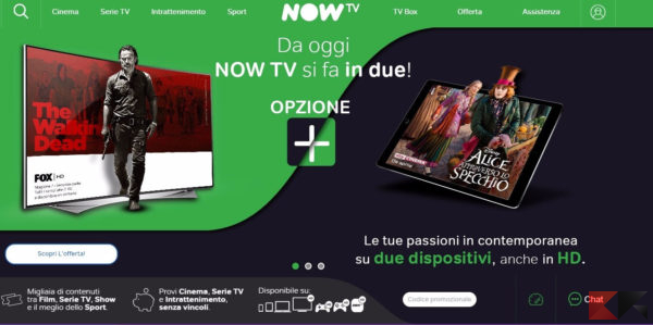 now tv - come vedere serie tv in streaming