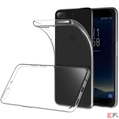 cover oneplus 5 - Lanseed Silicon
