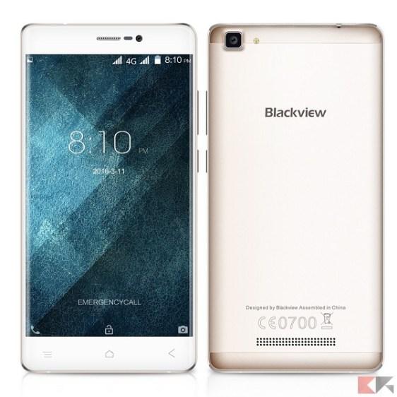 migliori smartphone cinesi con banda 20 - Blackview A8 Max