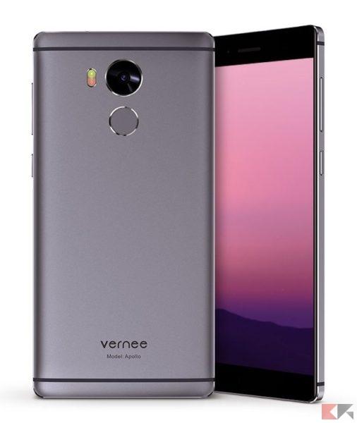 Vernee Apollo - migliori smartphone cinesi con banda 20