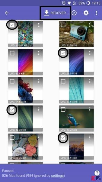 recuperare foto cancellate da microSD