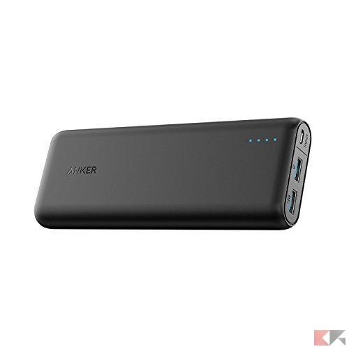 Power Bank Quick Charge 3.0 - Anker 20.000 mAh