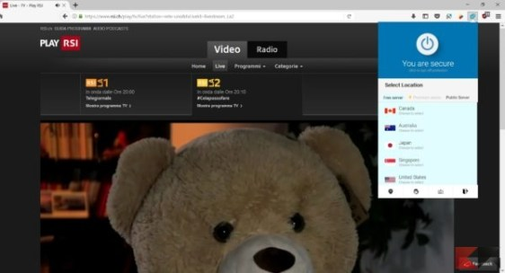 accedere ai siti bloccati in Italia: Hoxx VPN