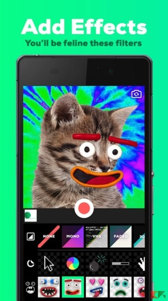 come condividere GIF su instagram - GIPHY CAM