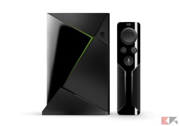 migliori TV box Android: Nvidia shield TV