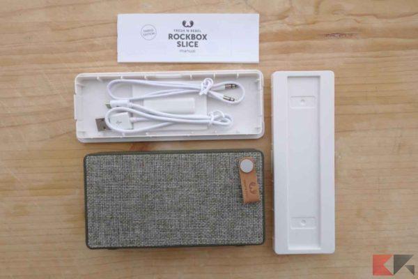 Fresh 'N Rebel RockBox Slice Fabric Edition - speaker bluetooth altoparlante wireless