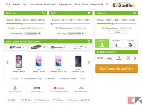 Migliori offerte telefonia mobile (WIND, VODAFONE, TIM, TRE ...
