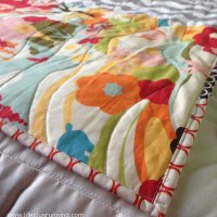 An adorably easy baby quilt Tutorial