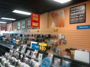 CD Store Going Out of Business Sale