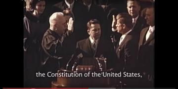 inauguration jfk