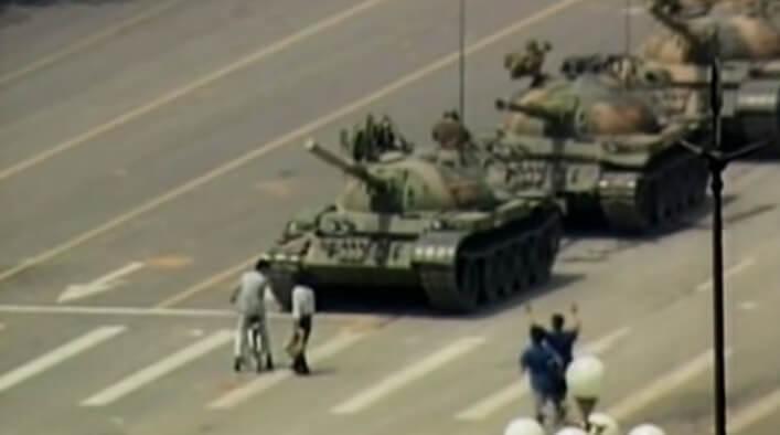 Where is Tank Man?