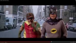 Retro Batman Superman