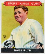 baseball card Ruth