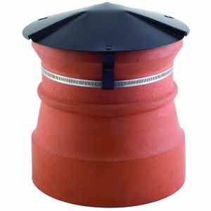 Disused Chimney Cap Black