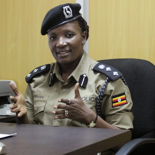Polly Namaye, Deputy Police spokesperson