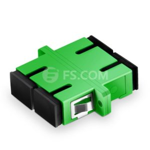 Duplex Fiber Optic Adapter